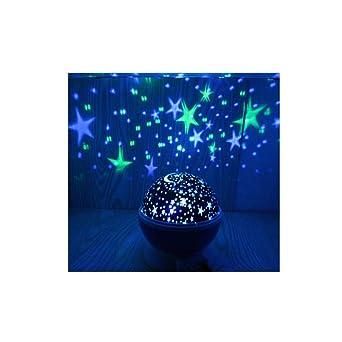 HUA-Projector Light Lampara Proyector Estrellas,Romántica Lámpara ...