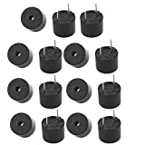 Aexit 15Pcs TMB12A03 3V Active Buzzer Magnetic Long Continous Beep Tone 12mm x 9.5mm