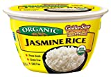 Golden Star Organic Ready to Eat Jasmine Rice Bowl (pack of 6)