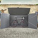 iihala Metal Garden Bike Storage