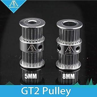 Laliva Impresora 3D - GT2 polea tipo doble cabeza GT2 20 dientes 6 ...