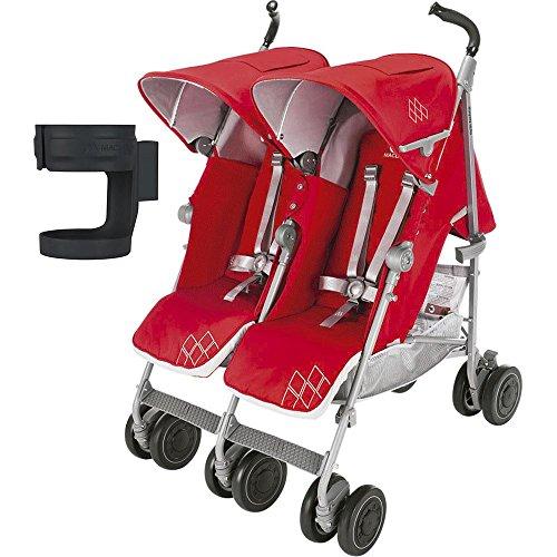 Maclaren Double Baby Stroller - 9