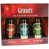 """William Grants """"The Discovery Collection"""" Blended Scotch Whisky Miniature Gift Set"""