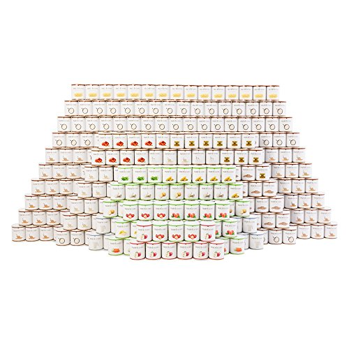 Ultimate 4 Person 1 Year Survival Food Supply by Nutristore | Emergency Kit | 32,500 total servings | Customizable Meals