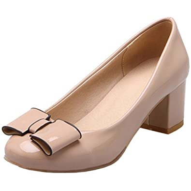 Zanpa Damen Pumps Ladies Glitter37 EU (sole length 24 CM)Beige