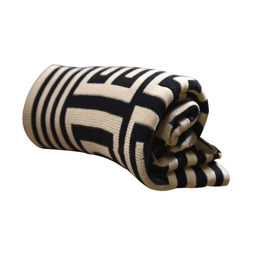 HSBAIS 大人の赤ちゃんのためのソフトコットン毛布 小さい毛布スロー/フルサイズの冬暖かい毛布洗えるブランケットシート,black_60*79inch B07LDPSZ3D black 60*79inch