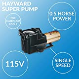 Hayward W3SP2600X5 Super Pump Pool Pump, 0.50 HP