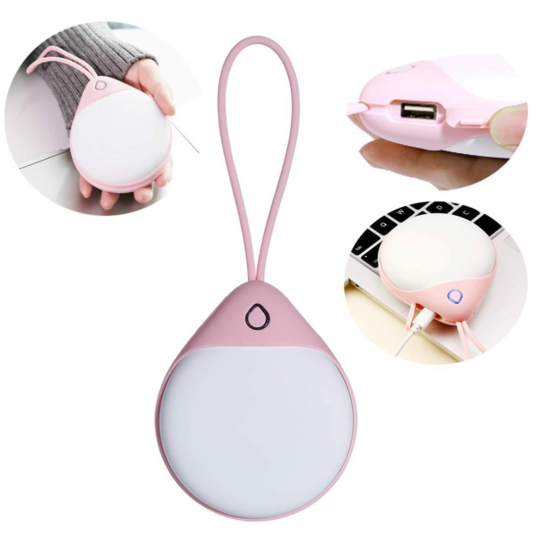 WANZIJING 2018 Innovative Mini Wassertropfen Handwärmer Hohe Kapazität 6000mAh Energienbank Cute Portable 2 in 1 Wiederaufladbare USB, elektrische Heizung Schatz