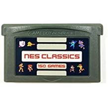 150 in 1 NES Classics for GBA Nintendo Gameboy Advance multicart Collection (Grey Cartridge)