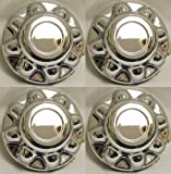 8 trailer hubcaps - Set of 4 - PHOENIX QT865CHN-x4, 16
