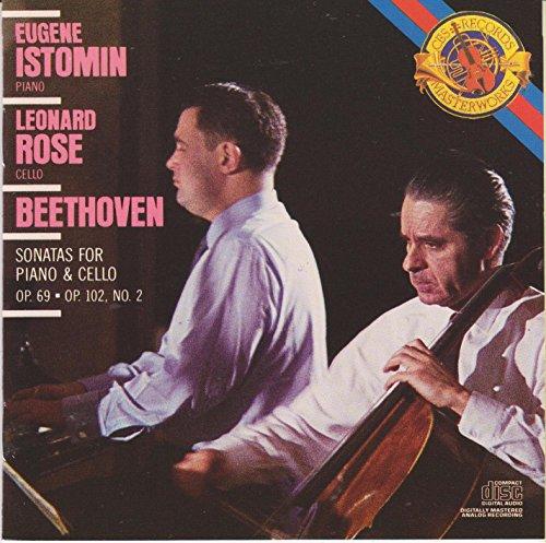 Beethoven Sonatas for Piano & Cello op 69 102 no 2 (CBS Masterworks)