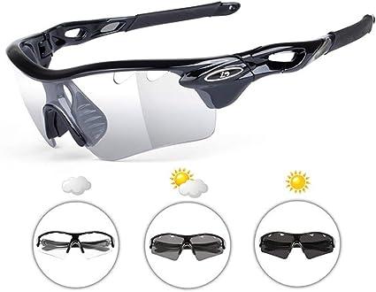 Polarized Outdoor Sport Sunglasses Mens Cycling Bike UV400 SunGlasses Goggles