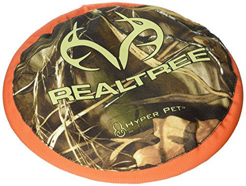 Hyper Pet Realtree Flippy Flopper Dog Toy, Camo, 9""