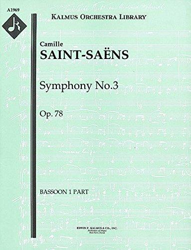 Symphony No.3, Op.78: Bassoon 1 and 2 parts [A1969]