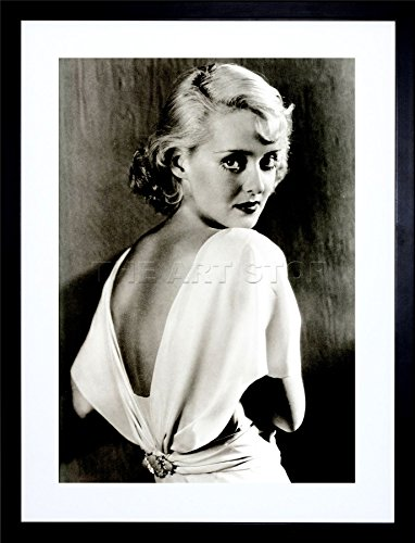 (Vintage Photo Bette Davis Hollywood Actress Frame Art Print Picture)