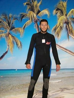 Men's Full Length 7mm Wetsuit Plus Size 4x Item#8850FU w/Free Shipping