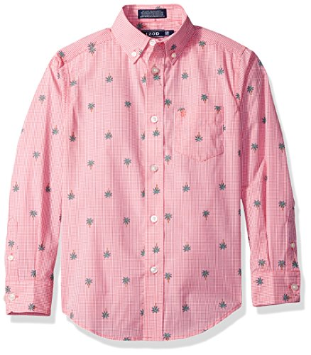 IZOD Boys Gingham Shirt