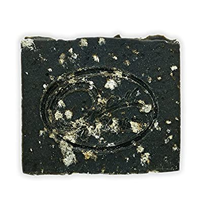 Opas Soap - Activated Charcoal Soap with Dead Sea Salt, Aloe Vera Extract, Organic Matcha Green Tea, French Green Clay, Acne Soap, Detox Soap (Pack of 1)