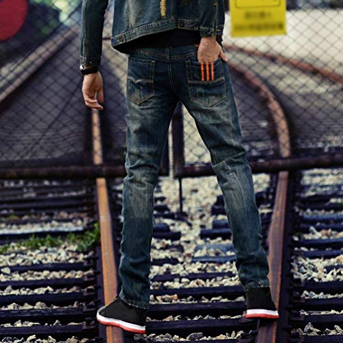 2 Denim Aderenti Vintage Dritta Orange Casual In Bobo Uomo Ssig 88 Estilo Stretch Especial Jeans Da Gamba Denim Pantaloni OYYxXUpw