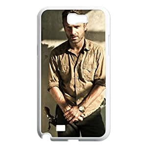 Samsung Galaxy Note 2 N7100 Phone Cases White The Walking Dead BCH991471