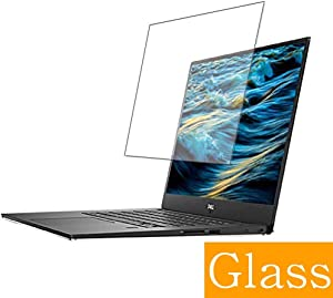 "Synvy Tempered Glass Screen Protector for Dell XPS 15 (9570) 2018 15.6"" XPS15 Visible Area Protective Screen Film Protectors 9H Anti-Scratch Bubble Free"