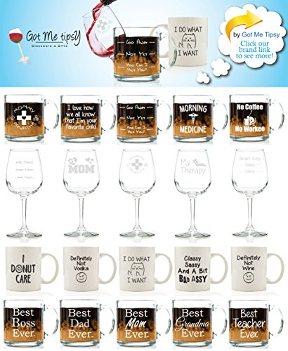 My Therapy Funny Wine Glass 13 oz - Best Christmas Gifts For Women ...