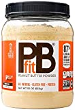 PBfit All-Natural Peanut Butter Powder 30 Ounce, Peanut Butter Powder from Real Roasted Pressed Peanuts, Good Source of Protein, Natural Ingredients