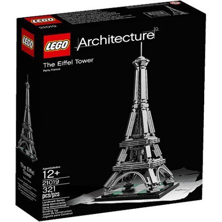 LEGO Architecture The Eiffel Tower Building Set de LEGO