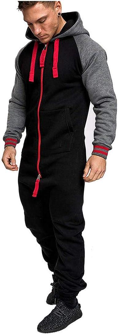 Nouveau Unisexe Deux Zip Jogging Combinaison Survêtement All in one piece Combi S-XL