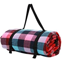 AUTENS Extra Large Picnic Blanket Outdoor Mat Camping Beach Waterproof Cashmere Rug