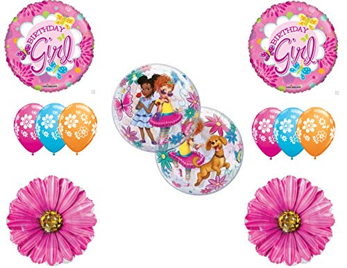 Fancy Nancy Birthday Party Balloons Decoration Supplies Clancy Daisys]()