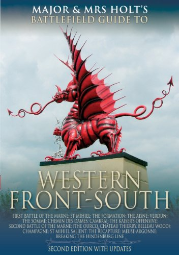 (The Western Front - South: Battlefield Guide (Major and Mrs Holt's Battlefield Guides) )