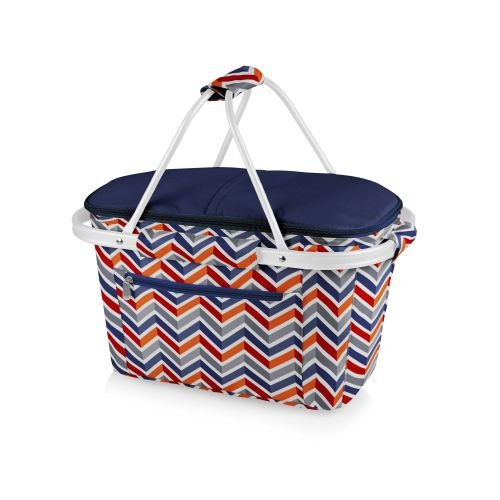 picture of Picnic Time Vibe Collection Market Basket Tote Bag, Multicolor