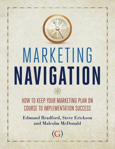 Marketing Navigation: How to keep your marketing plan on course to implementation success