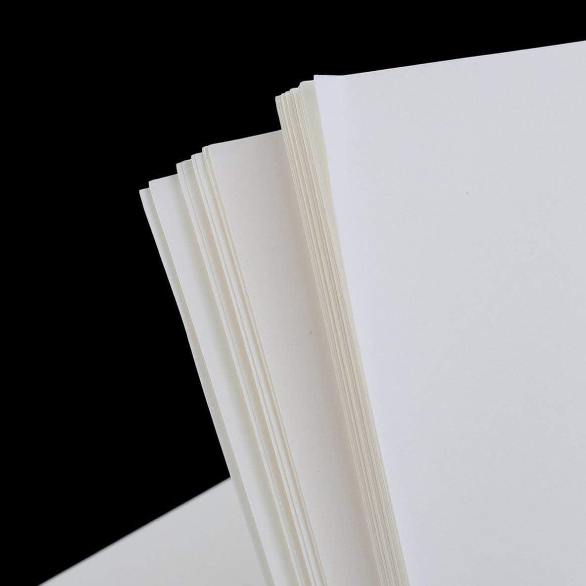 100 unidades A4 papel de sublimación impreso para camiseta, de algodón y poliéster, hierro, sobre papel de transferencia, impresión de transferencia de calor, accesorios – blanco: Amazon.es: Oficina y papelería