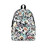 Backpacks for Teen Girls for School,MeiLiio Durable Canvas Backpacks for Men Zipper Fashion Printing Bag for Girls Boys-02