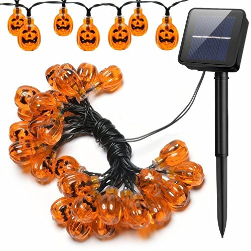 15 Led Halloween Pumpkin String Lights in US - 2
