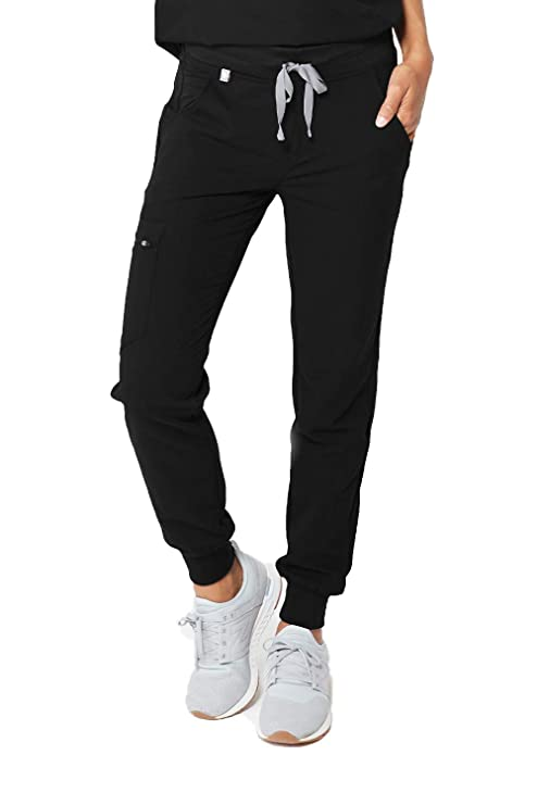 FIGS Women's Zamora 2.0 Medical Scrub Pants, Black S best women's scrub pants