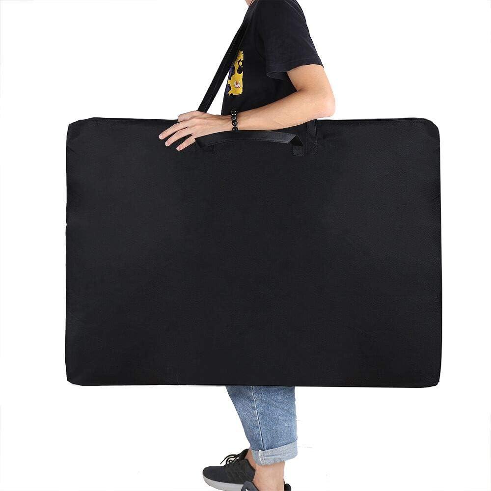 24X 36 Student Art Work Portfolio Case Poster Board Storage Bag Large Size Art Portfolio Tote with Nylon Shoulder