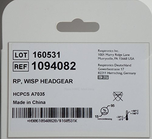 Headgear for WISP Nasal Mask-Standard (Medium) Size by Respironics (Image #1)