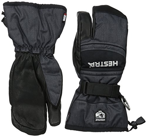 Hestra CZone Mountain 3-Finger Leather Ski Glove