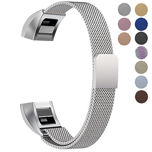 Oitom for Fitbit Alta HR Accessory Bands and Fitbit Alta Band, (2 Size) Large 6.7