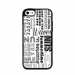 Ace Of Spades On Floral Background Clear Plastic Phone Case Back Iphone 5/5S