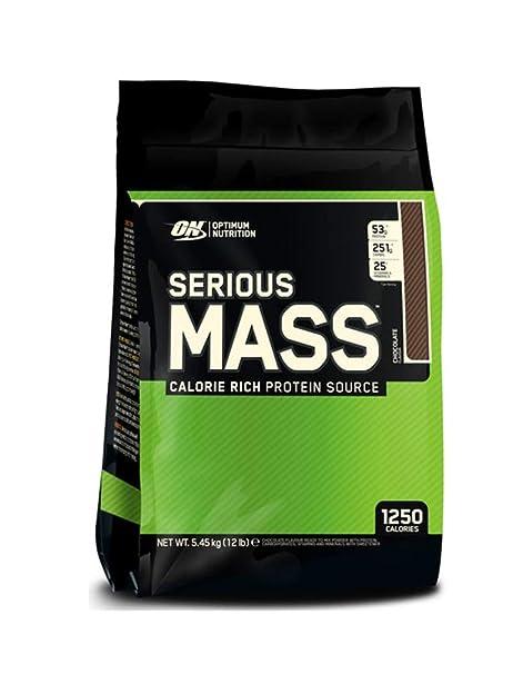 Optimum Nutrition Serious Mass Granador, Chocolate - 5450 gr ...
