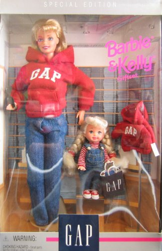 Barbie & Kelly GAP Giftset Special Edition 2 Dolls (1997)