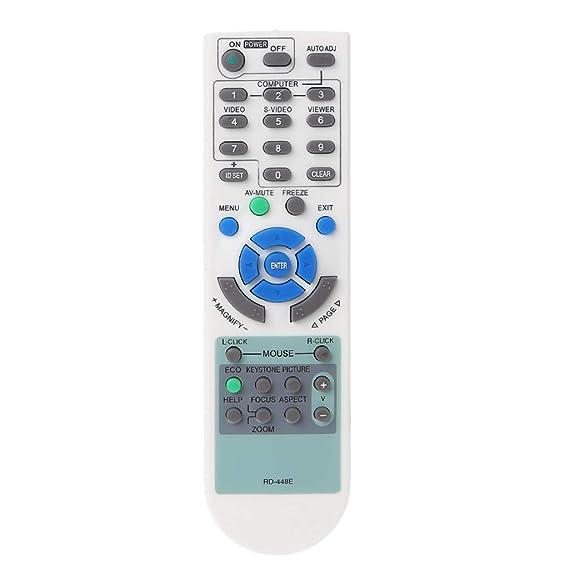 rryilong - Mando a Distancia Universal para proyector Optoma con ...