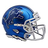 NFL Detroit Lions Alternate Blaze Speed Mini Helmet
