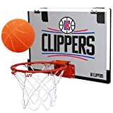 NBA Los Angeles Clippers Game On Indoor Basketball Hoop & Ball Set, Regular, Red