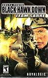 Delta Force - Black Hawk Down Team Sabre PS2 Instruction Booklet (PlayStation 2 Manual Only - NO GAME) [Pamphlet only - NO GAME INCLUDED] Play Station 2