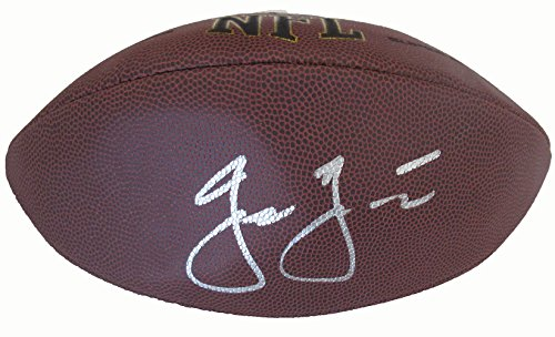 Jason Garrett Autographed Wilson NFL Football W/PROOF, Picture of Jason Signing For Us, Dallas Cowboys